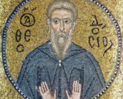 Theodosius_the_Cenobiarch_(mosaic_in_Nea_Moni)